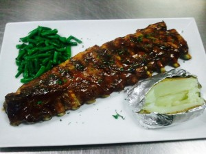Full Rack Baby Back Ribs